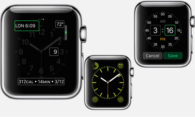 Apple Watch UI